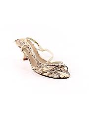 d95a91c805c Franco Sarto Metallic Silver Heels Size 6 - 86% off