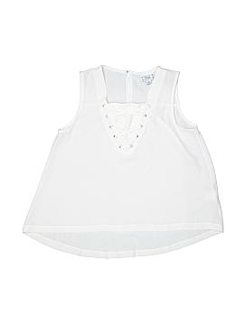 D-Signed Sleeveless Blouse Size 10 - 12