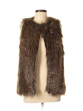 Rue21 Faux Fur Vest Size M