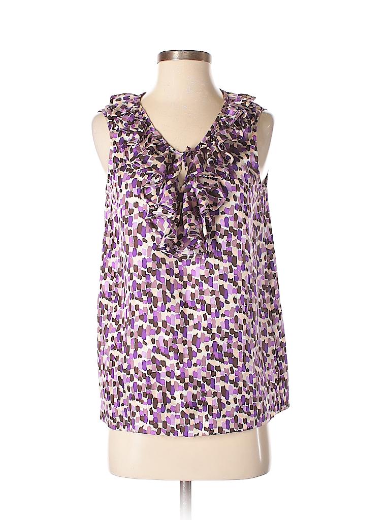 Kate Spade New York Women Sleeveless Silk Top Size 4