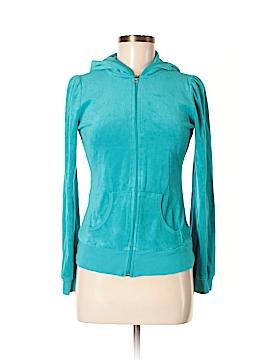 Blu Chic Zip Up Hoodie Size M
