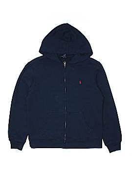 Polo by Ralph Lauren Zip Up Hoodie Size 14-16