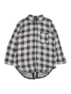 Xhilaration Long Sleeve Button-Down Shirt Size 11 - 13