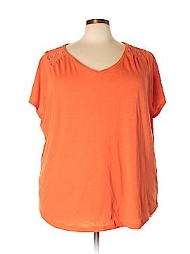 North Crest Short Sleeve T-Shirt Size 4X (Plus)