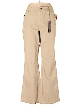 Zana Di Jeans Khakis Size 20 (Plus)