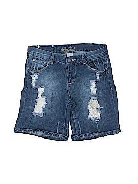 Red Rivet Denim Shorts Size 1