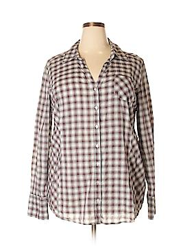 Converse One Star Long Sleeve Button-Down Shirt Size 3X (Plus)