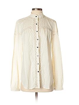 Sundance Long Sleeve Button-Down Shirt Size S