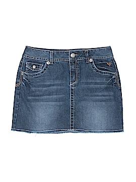 Justice Denim Skirt Size 16