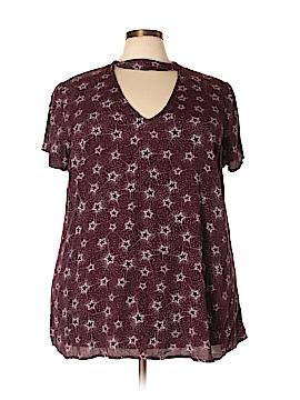 Torrid Short Sleeve Blouse Size 2X Plus (2) (Plus)