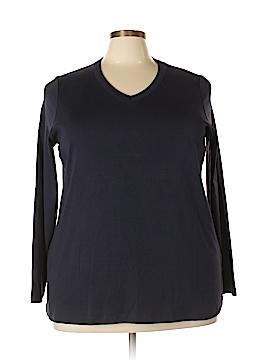 Lands' End Long Sleeve T-Shirt Size 3X (Plus)
