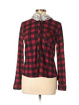 Rue21 Long Sleeve Button-Down Shirt Size S