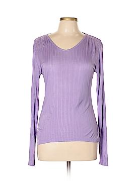 REI Long Sleeve Silk Top Size L
