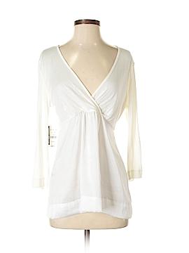 New York & Company 3/4 Sleeve Top Size XS