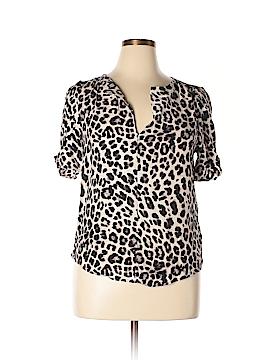 Jolie Short Sleeve Blouse Size L