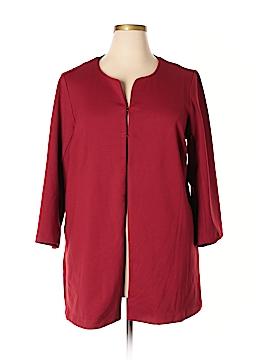Joan Vass New York Cardigan Size 1X (Plus)