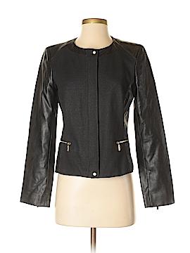 Jones New York Faux Leather Jacket Size 4