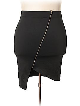 FASHION TO FIGURE Casual Skirt Size 3X Plus (3) (Plus)