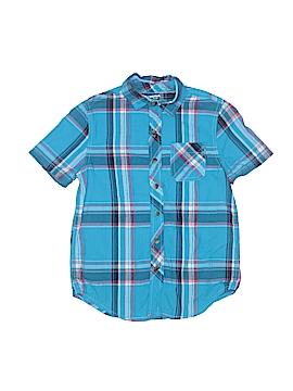 Arizona Jean Company Short Sleeve Button-Down Shirt Size 8