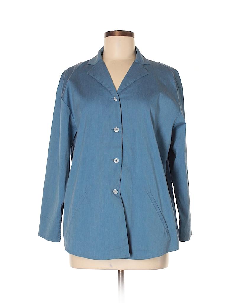 Piazza Sempione Women Long Sleeve Blouse Size 42 (IT)