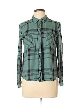 Takara Long Sleeve Button-Down Shirt Size M