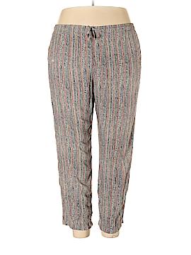 Sag Harbor Casual Pants Size 1X (Plus)