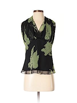 Lela Rose Sleeveless Silk Top Size 6