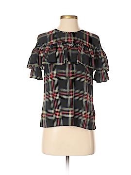 J. Crew Short Sleeve Blouse Size 0 (Petite)