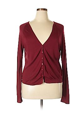Parallel Silk Cardigan Size XL