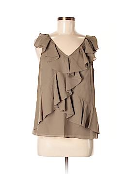 J. Crew Factory Store Sleeveless Silk Top Size 8