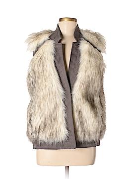 Rebecca Taylor Faux Fur Vest Size M