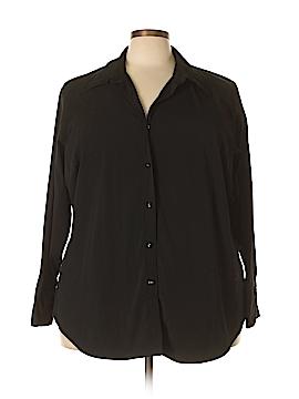 Venezia Long Sleeve Button-Down Shirt Size 26/28 Plus (Plus)