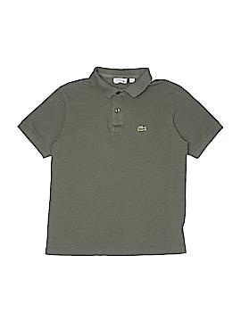 Lacoste Short Sleeve Polo Size 14