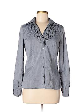 Ann Taylor Factory Long Sleeve Button-Down Shirt Size 6