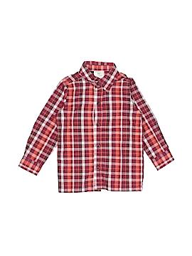 WonderKids Long Sleeve Button-Down Shirt Size 2T
