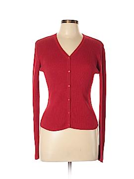 City Silk Silk Cardigan Size L