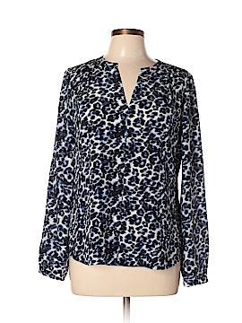 Rebecca Taylor Long Sleeve Silk Top Size 8