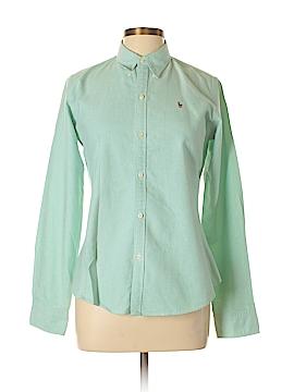 Ralph Lauren Long Sleeve Button-Down Shirt Size 10