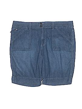 Gloria Vanderbilt Denim Shorts Size 18 (Plus)