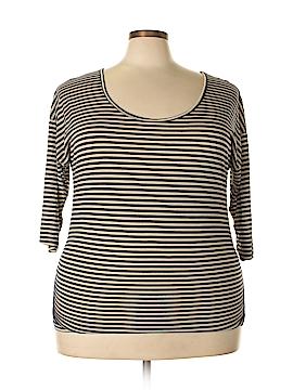 Julie's Closet 3/4 Sleeve T-Shirt Size 3X (Plus)