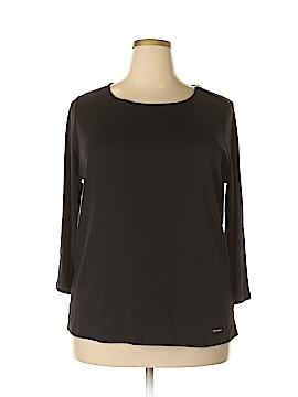 Ellen Tracy Long Sleeve Top Size 2X (Plus)