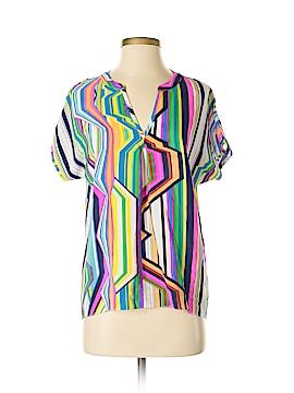 Amanda Uprichard Short Sleeve Blouse Size P