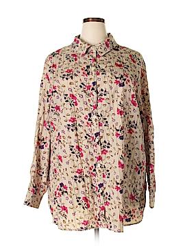 JMS Collection Long Sleeve Blouse Size 4X (Plus)