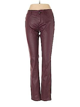 Calvin Klein Faux Leather Pants Size 2