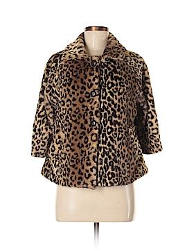 Dialogue Faux Fur Jacket Size S