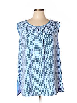 Jones New York Short Sleeve Blouse Size 20w (Plus)