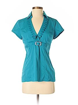 Express Design Studio Short Sleeve Blouse Size S