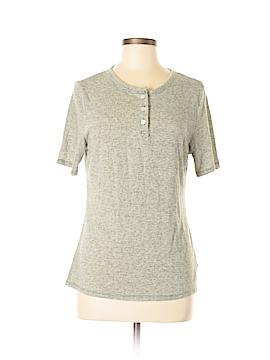 Frame Shirt London Los Angeles Short Sleeve Henley Size L