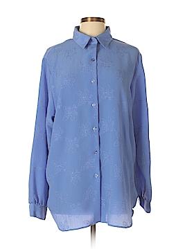 BonWorth Long Sleeve Blouse Size L