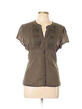 Calvin Klein Short Sleeve Button-Down Shirt Size L